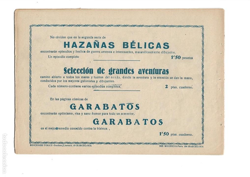 Tebeos: Hazañas del Oeste, Año 1.950 Colección Completa son 11 Tebeos Originales muy dificil de Completar - Foto 15 - 135080638