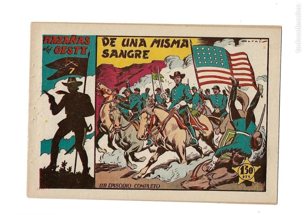 Tebeos: Hazañas del Oeste, Año 1.950 Colección Completa son 11 Tebeos Originales muy dificil de Completar - Foto 16 - 135080638