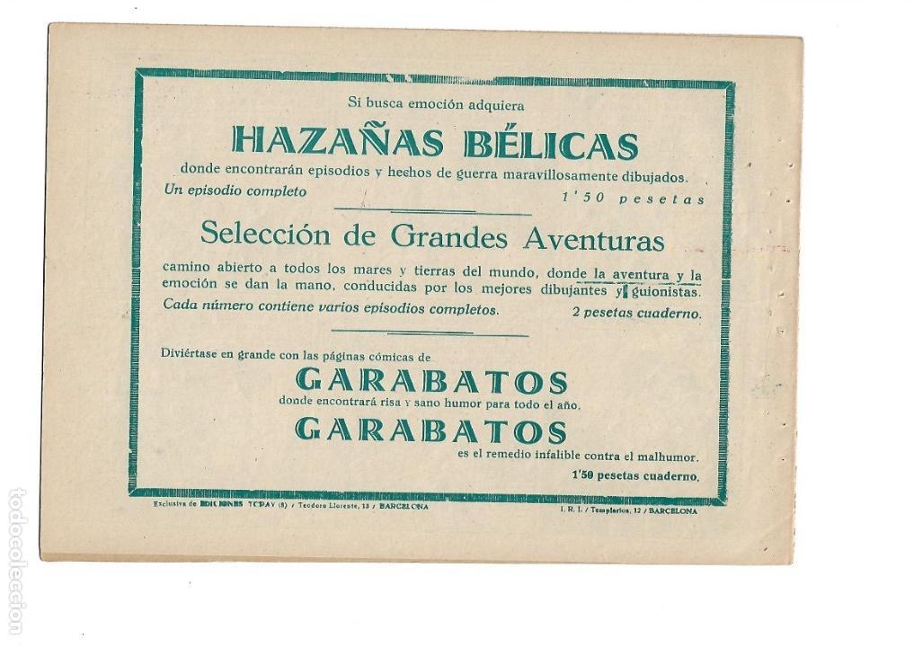 Tebeos: Hazañas del Oeste, Año 1.950 Colección Completa son 11 Tebeos Originales muy dificil de Completar - Foto 17 - 135080638