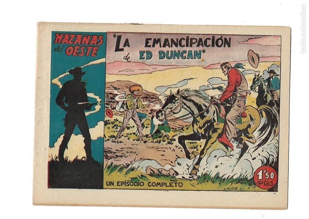 Tebeos: Hazañas del Oeste, Año 1.950 Colección Completa son 11 Tebeos Originales muy dificil de Completar - Foto 18 - 135080638