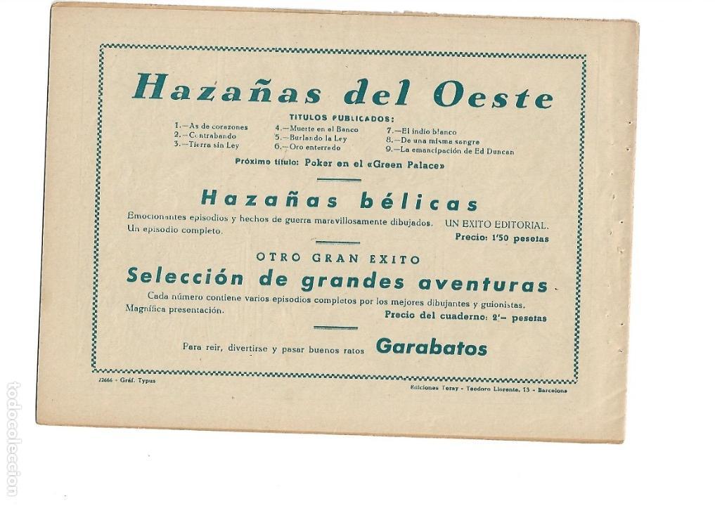 Tebeos: Hazañas del Oeste, Año 1.950 Colección Completa son 11 Tebeos Originales muy dificil de Completar - Foto 19 - 135080638