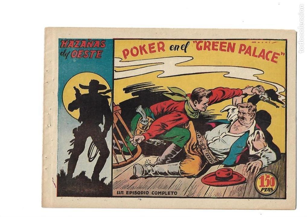 Tebeos: Hazañas del Oeste, Año 1.950 Colección Completa son 11 Tebeos Originales muy dificil de Completar - Foto 20 - 135080638