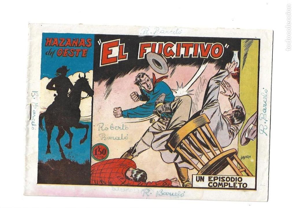 Tebeos: Hazañas del Oeste, Año 1.950 Colección Completa son 11 Tebeos Originales muy dificil de Completar - Foto 22 - 135080638