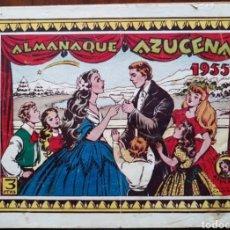 Tebeos: TEBEO AZUCENA ALMANAQUE 1955. Lote 135223807