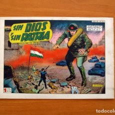 Tebeos: HAZAÑAS BÉLICAS - 2ª SERIE, Nº 192, SIN DIOS Y SIN PATRIA - EDICIONES TORAY 1950 . Lote 135329990