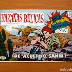 Tebeos: HAZAÑAS BÉLICAS - 2ª SERIE, Nº 263, DE ACUERDO SAHIB - EDICIONES TORAY 1950 . Lote 135335510