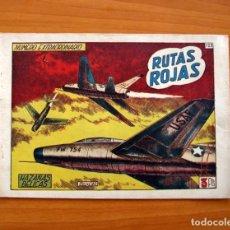 Tebeos: HAZAÑAS BÉLICAS - 2ª SERIE, EXTRAORDINARIO Nº 125, RUTAS ROJAS - EDICIONES TORAY 1950. Lote 135388574
