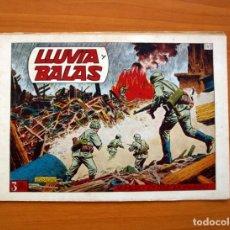Tebeos: HAZAÑAS BÉLICAS - 2ª SERIE, EXTRAORDINARIO Nº 149, LLUVIA Y BALAS - EDICIONES TORAY 1950. Lote 135391830