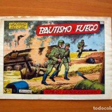Tebeos: HAZAÑAS BÉLICAS - 2ª SERIE, EXTRAORDINARIO Nº 173, BAUTISMO DE FUEGO - EDICIONES TORAY 1950. Lote 135392314