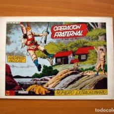 Tebeos: HAZAÑAS BÉLICAS - 2ª SERIE, EXTRAORDINARIO Nº 193, OPERACIÓN FRATERNAL - EDICIONES TORAY 1950. Lote 135392586