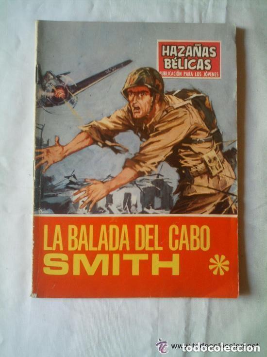 Tebeos: BALADA DEL CABO SMITH - HAZAÑAS BÉLICAS 1969 Nº 199 - Foto 2 - 135759342