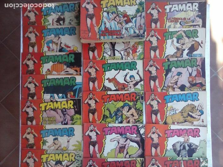 Tebeos: TAMAR COLECCION COMPLETA ORIGINAL SUELTA 1 al 186 - MAGNÍFICO ESTADO, VER TODAS LAS PORTADAS, 1961 - Foto 2 - 135844734