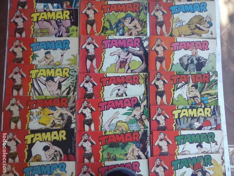 Tebeos: TAMAR COLECCION COMPLETA ORIGINAL SUELTA 1 al 186 - MAGNÍFICO ESTADO, VER TODAS LAS PORTADAS, 1961 - Foto 3 - 135844734