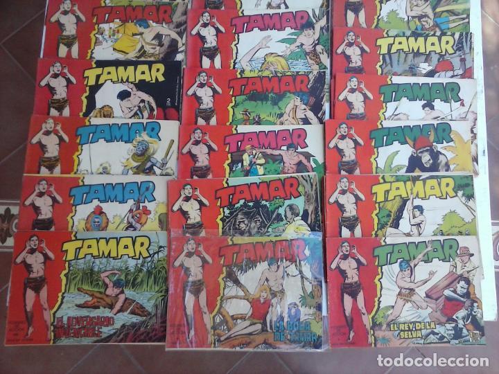 Tebeos: TAMAR COLECCION COMPLETA ORIGINAL SUELTA 1 al 186 - MAGNÍFICO ESTADO, VER TODAS LAS PORTADAS, 1961 - Foto 4 - 135844734