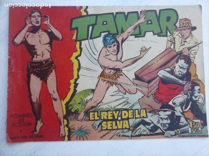 Tebeos: nº 1 Tamar, rey de la selva - Foto 7 - 135844734