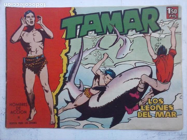 Tebeos: TAMAR COLECCION COMPLETA ORIGINAL SUELTA 1 al 186 - MAGNÍFICO ESTADO, VER TODAS LAS PORTADAS, 1961 - Foto 8 - 135844734