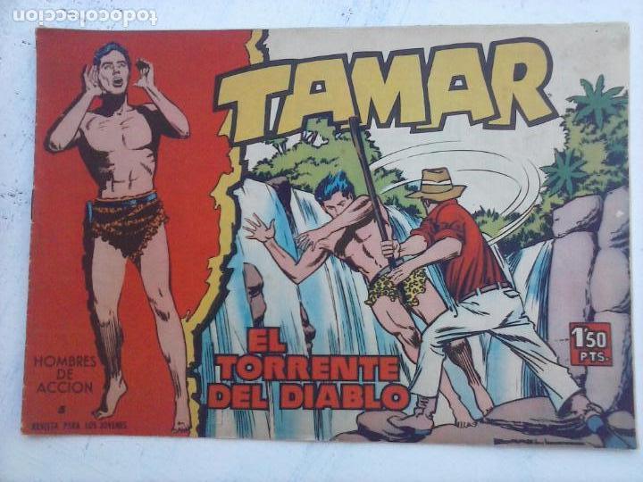 Tebeos: TAMAR COLECCION COMPLETA ORIGINAL SUELTA 1 al 186 - MAGNÍFICO ESTADO, VER TODAS LAS PORTADAS, 1961 - Foto 9 - 135844734