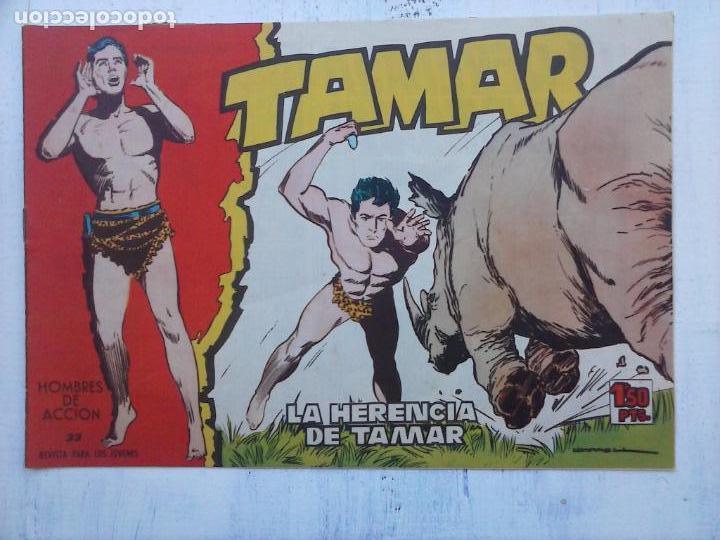 Tebeos: TAMAR COLECCION COMPLETA ORIGINAL SUELTA 1 al 186 - MAGNÍFICO ESTADO, VER TODAS LAS PORTADAS, 1961 - Foto 10 - 135844734