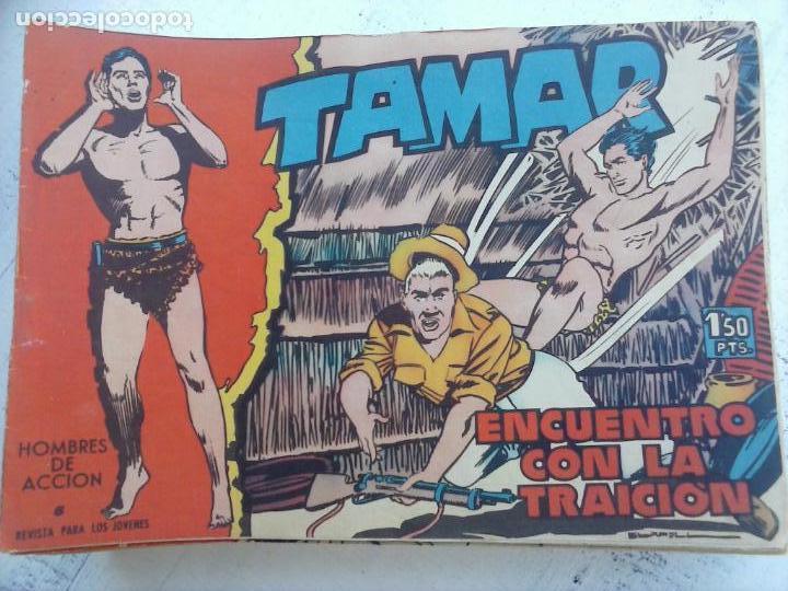 Tebeos: TAMAR COLECCION COMPLETA ORIGINAL SUELTA 1 al 186 - MAGNÍFICO ESTADO, VER TODAS LAS PORTADAS, 1961 - Foto 11 - 135844734