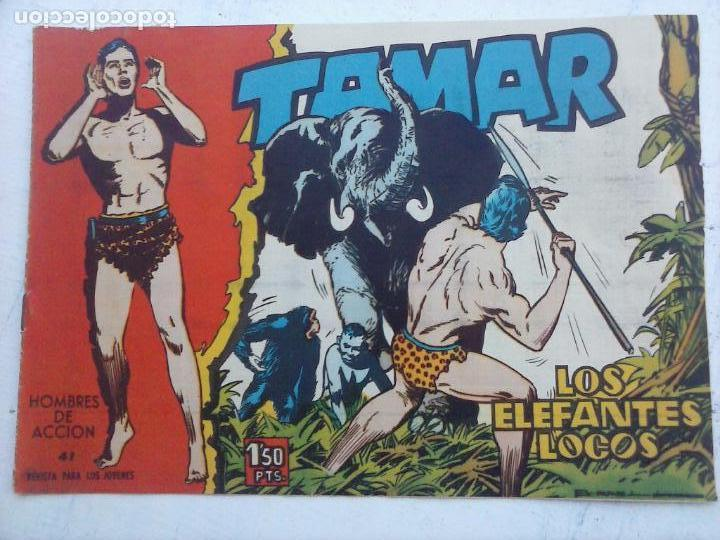 Tebeos: TAMAR COLECCION COMPLETA ORIGINAL SUELTA 1 al 186 - MAGNÍFICO ESTADO, VER TODAS LAS PORTADAS, 1961 - Foto 12 - 135844734