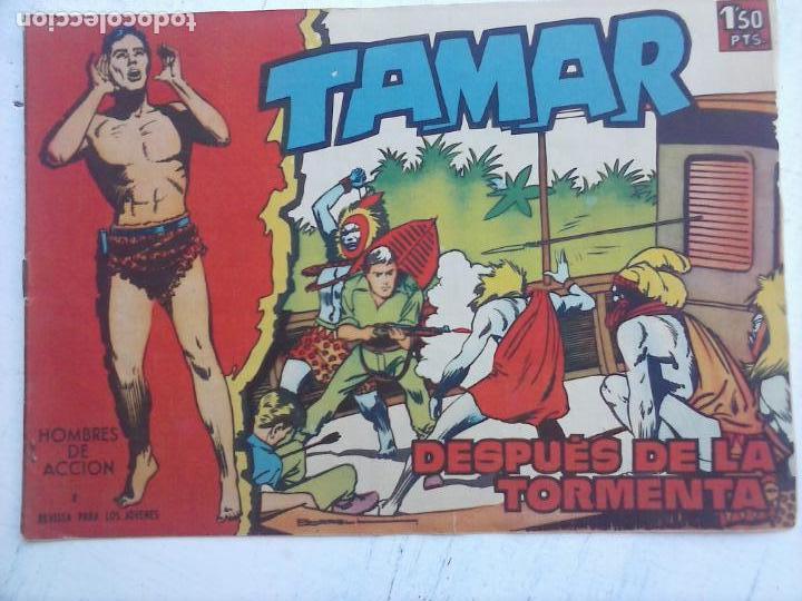 Tebeos: TAMAR COLECCION COMPLETA ORIGINAL SUELTA 1 al 186 - MAGNÍFICO ESTADO, VER TODAS LAS PORTADAS, 1961 - Foto 13 - 135844734