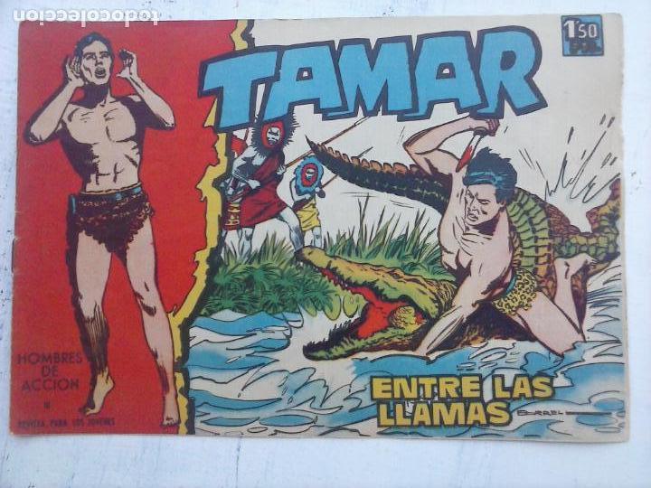 Tebeos: TAMAR COLECCION COMPLETA ORIGINAL SUELTA 1 al 186 - MAGNÍFICO ESTADO, VER TODAS LAS PORTADAS, 1961 - Foto 14 - 135844734
