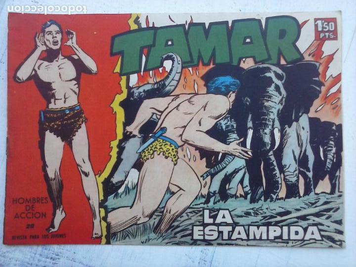 Tebeos: TAMAR COLECCION COMPLETA ORIGINAL SUELTA 1 al 186 - MAGNÍFICO ESTADO, VER TODAS LAS PORTADAS, 1961 - Foto 15 - 135844734