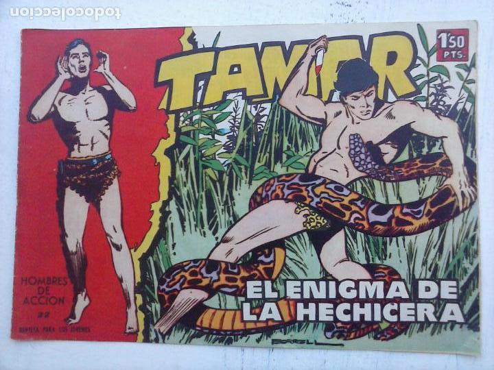 Tebeos: TAMAR COLECCION COMPLETA ORIGINAL SUELTA 1 al 186 - MAGNÍFICO ESTADO, VER TODAS LAS PORTADAS, 1961 - Foto 16 - 135844734