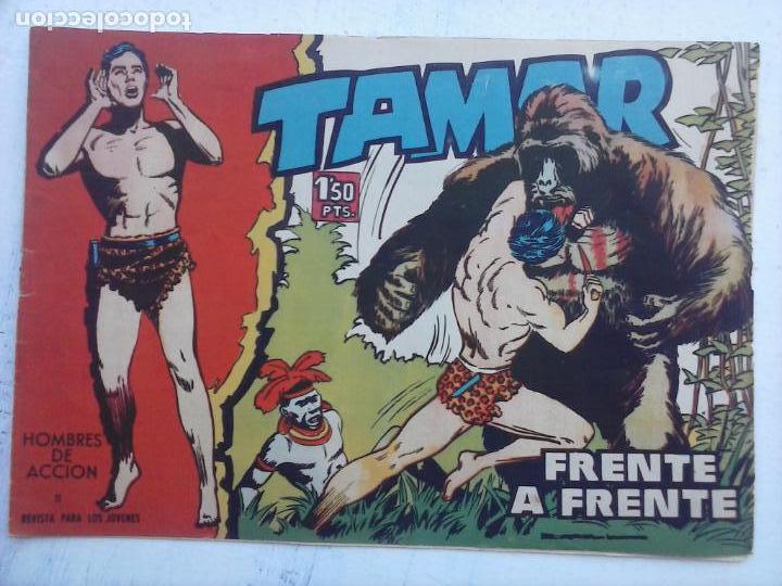Tebeos: TAMAR COLECCION COMPLETA ORIGINAL SUELTA 1 al 186 - MAGNÍFICO ESTADO, VER TODAS LAS PORTADAS, 1961 - Foto 17 - 135844734