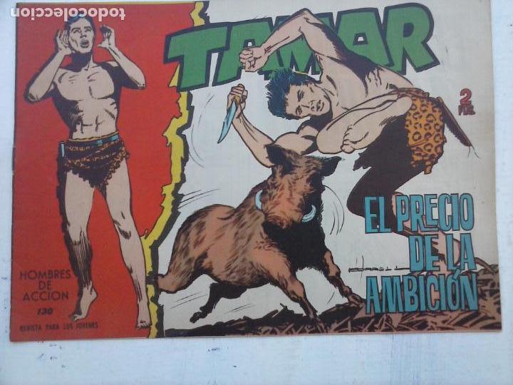 Tebeos: TAMAR COLECCION COMPLETA ORIGINAL SUELTA 1 al 186 - MAGNÍFICO ESTADO, VER TODAS LAS PORTADAS, 1961 - Foto 21 - 135844734
