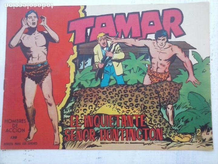 Tebeos: TAMAR COLECCION COMPLETA ORIGINAL SUELTA 1 al 186 - MAGNÍFICO ESTADO, VER TODAS LAS PORTADAS, 1961 - Foto 22 - 135844734