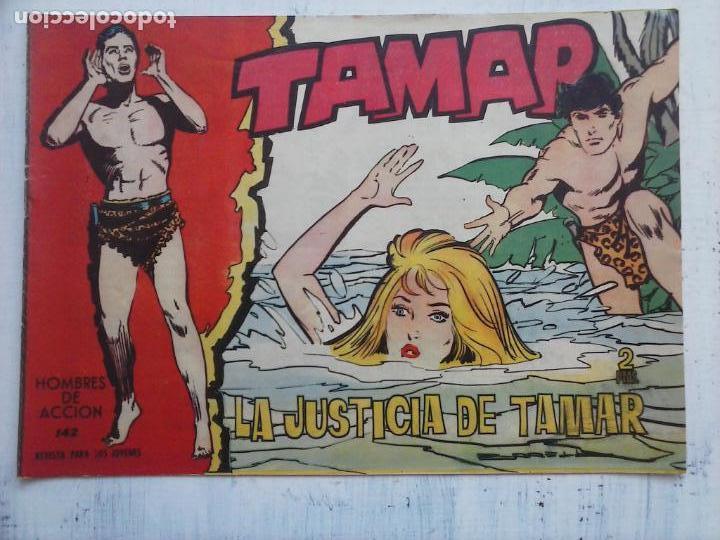 Tebeos: TAMAR COLECCION COMPLETA ORIGINAL SUELTA 1 al 186 - MAGNÍFICO ESTADO, VER TODAS LAS PORTADAS, 1961 - Foto 24 - 135844734