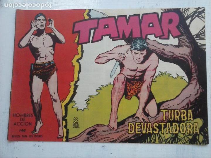 Tebeos: TAMAR COLECCION COMPLETA ORIGINAL SUELTA 1 al 186 - MAGNÍFICO ESTADO, VER TODAS LAS PORTADAS, 1961 - Foto 25 - 135844734