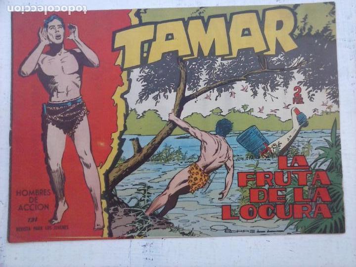 Tebeos: TAMAR COLECCION COMPLETA ORIGINAL SUELTA 1 al 186 - MAGNÍFICO ESTADO, VER TODAS LAS PORTADAS, 1961 - Foto 26 - 135844734