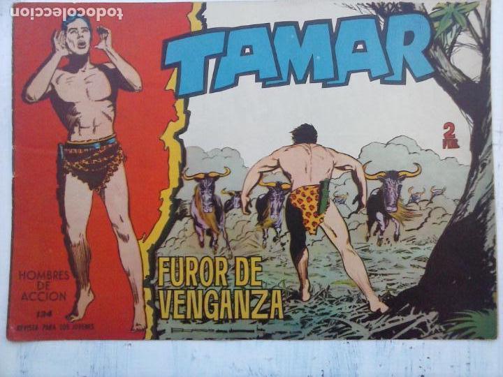 Tebeos: TAMAR COLECCION COMPLETA ORIGINAL SUELTA 1 al 186 - MAGNÍFICO ESTADO, VER TODAS LAS PORTADAS, 1961 - Foto 28 - 135844734