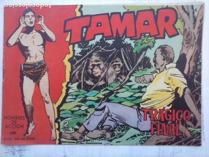 Tebeos: TAMAR COLECCION COMPLETA ORIGINAL SUELTA 1 al 186 - MAGNÍFICO ESTADO, VER TODAS LAS PORTADAS, 1961 - Foto 31 - 135844734