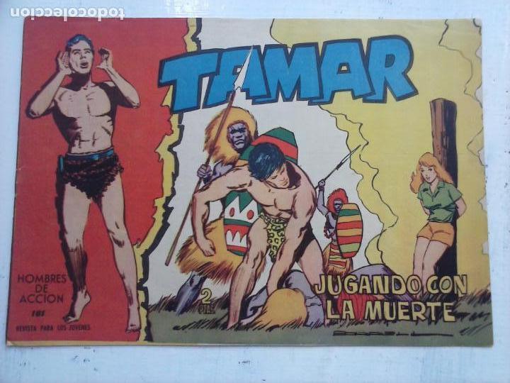 Tebeos: TAMAR COLECCION COMPLETA ORIGINAL SUELTA 1 al 186 - MAGNÍFICO ESTADO, VER TODAS LAS PORTADAS, 1961 - Foto 33 - 135844734