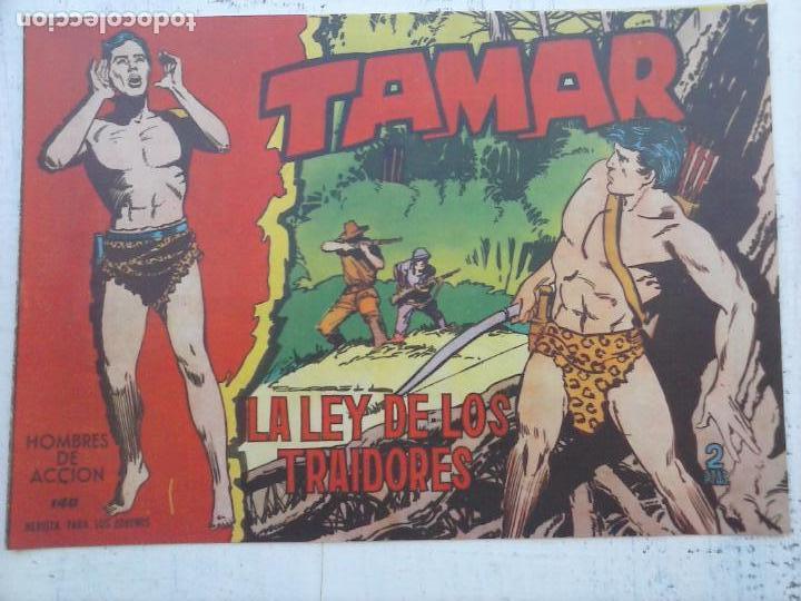 Tebeos: TAMAR COLECCION COMPLETA ORIGINAL SUELTA 1 al 186 - MAGNÍFICO ESTADO, VER TODAS LAS PORTADAS, 1961 - Foto 34 - 135844734