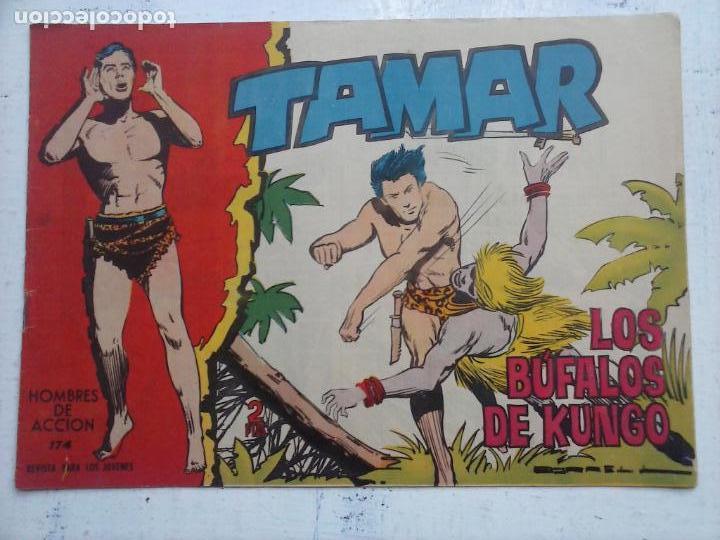 Tebeos: TAMAR COLECCION COMPLETA ORIGINAL SUELTA 1 al 186 - MAGNÍFICO ESTADO, VER TODAS LAS PORTADAS, 1961 - Foto 35 - 135844734