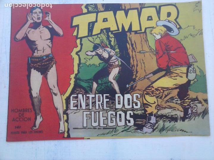 Tebeos: TAMAR COLECCION COMPLETA ORIGINAL SUELTA 1 al 186 - MAGNÍFICO ESTADO, VER TODAS LAS PORTADAS, 1961 - Foto 37 - 135844734