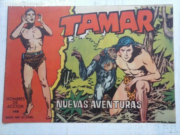 Tebeos: TAMAR COLECCION COMPLETA ORIGINAL SUELTA 1 al 186 - MAGNÍFICO ESTADO, VER TODAS LAS PORTADAS, 1961 - Foto 38 - 135844734