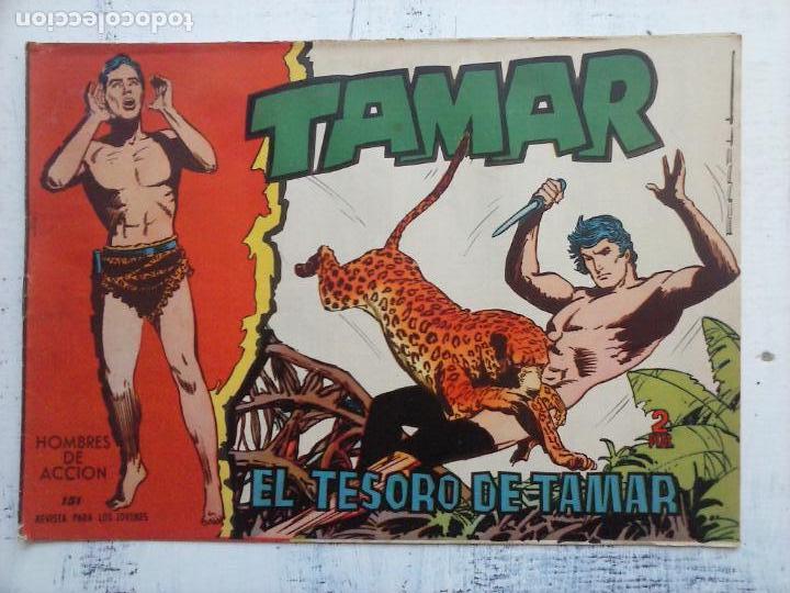 Tebeos: TAMAR COLECCION COMPLETA ORIGINAL SUELTA 1 al 186 - MAGNÍFICO ESTADO, VER TODAS LAS PORTADAS, 1961 - Foto 39 - 135844734