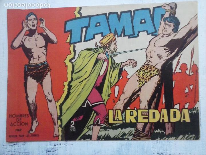 Tebeos: TAMAR COLECCION COMPLETA ORIGINAL SUELTA 1 al 186 - MAGNÍFICO ESTADO, VER TODAS LAS PORTADAS, 1961 - Foto 40 - 135844734