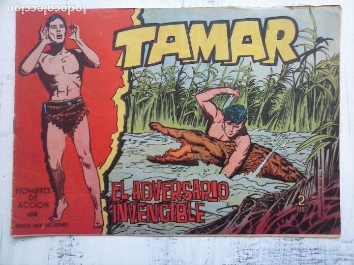 Tebeos: TAMAR COLECCION COMPLETA ORIGINAL SUELTA 1 al 186 - MAGNÍFICO ESTADO, VER TODAS LAS PORTADAS, 1961 - Foto 43 - 135844734