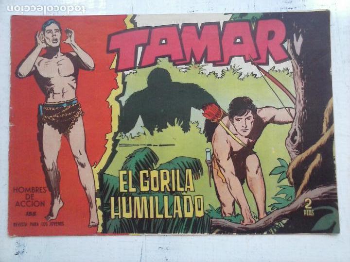 Tebeos: TAMAR COLECCION COMPLETA ORIGINAL SUELTA 1 al 186 - MAGNÍFICO ESTADO, VER TODAS LAS PORTADAS, 1961 - Foto 45 - 135844734
