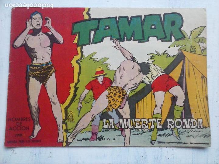 Tebeos: TAMAR COLECCION COMPLETA ORIGINAL SUELTA 1 al 186 - MAGNÍFICO ESTADO, VER TODAS LAS PORTADAS, 1961 - Foto 46 - 135844734