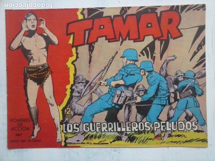 Tebeos: TAMAR COLECCION COMPLETA ORIGINAL SUELTA 1 al 186 - MAGNÍFICO ESTADO, VER TODAS LAS PORTADAS, 1961 - Foto 47 - 135844734