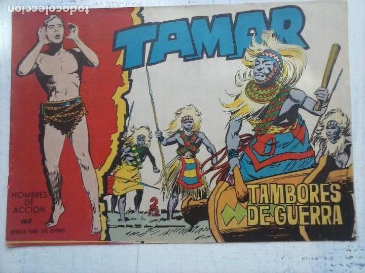 Tebeos: TAMAR COLECCION COMPLETA ORIGINAL SUELTA 1 al 186 - MAGNÍFICO ESTADO, VER TODAS LAS PORTADAS, 1961 - Foto 48 - 135844734