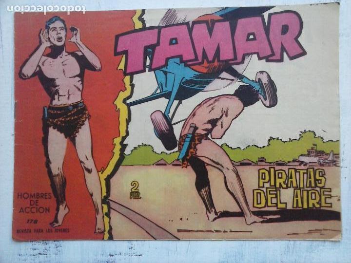 Tebeos: TAMAR COLECCION COMPLETA ORIGINAL SUELTA 1 al 186 - MAGNÍFICO ESTADO, VER TODAS LAS PORTADAS, 1961 - Foto 49 - 135844734