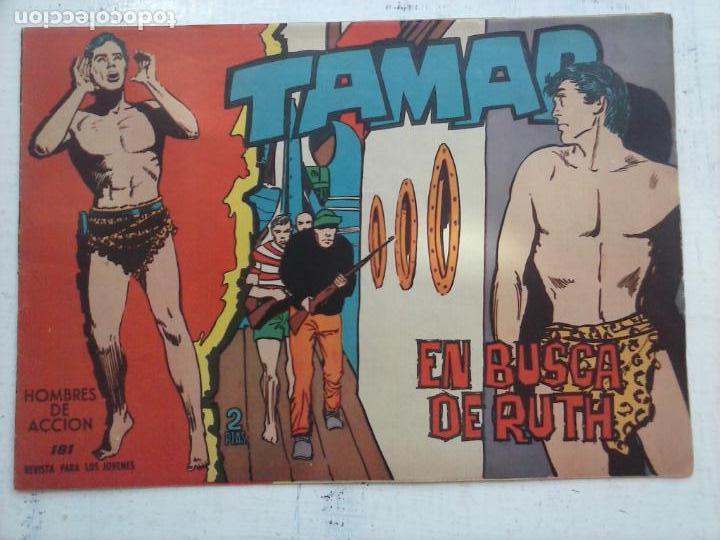 Tebeos: TAMAR COLECCION COMPLETA ORIGINAL SUELTA 1 al 186 - MAGNÍFICO ESTADO, VER TODAS LAS PORTADAS, 1961 - Foto 50 - 135844734